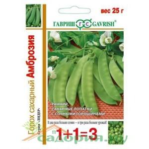Горох Амброзия (1+1) сахарный / 25 г ц/п Гавриш