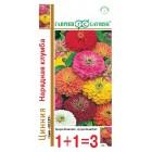 Цветы Цинния Нарядная клумба, крупная смесь 0,5 г (1+1) ц/п Гавриш
