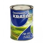 """Грунт гф-021 серый  0,8 кг (14) """"Krafor"""""""