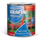 """Лак нц-218  0,7 кг (14) """"Krafor"""""""