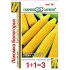 Кукуруза Лакомка Белогорья, сахарная (1+1) 15 г ц/п Гавриш