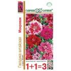 Цветы Гвоздика Китайская Махровая смесь, (1+1) 0,6 г ц/п Гавриш