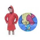 Дождевик детский на кнопках PVC 836